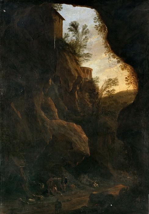 Asselijn, Jan (Atribuido a) -- Vista de Tívoli. Part 6 Prado Museum