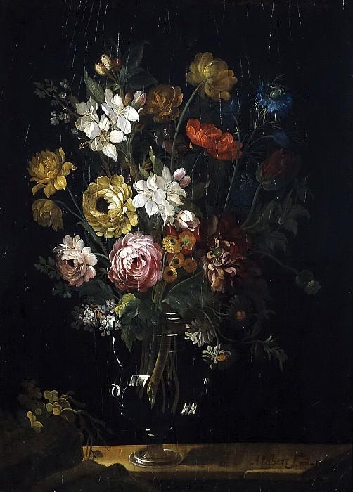 Алаберт, Сантьяго -- Ваза с розами и цветами миндаля. часть 6 Музей Прадо