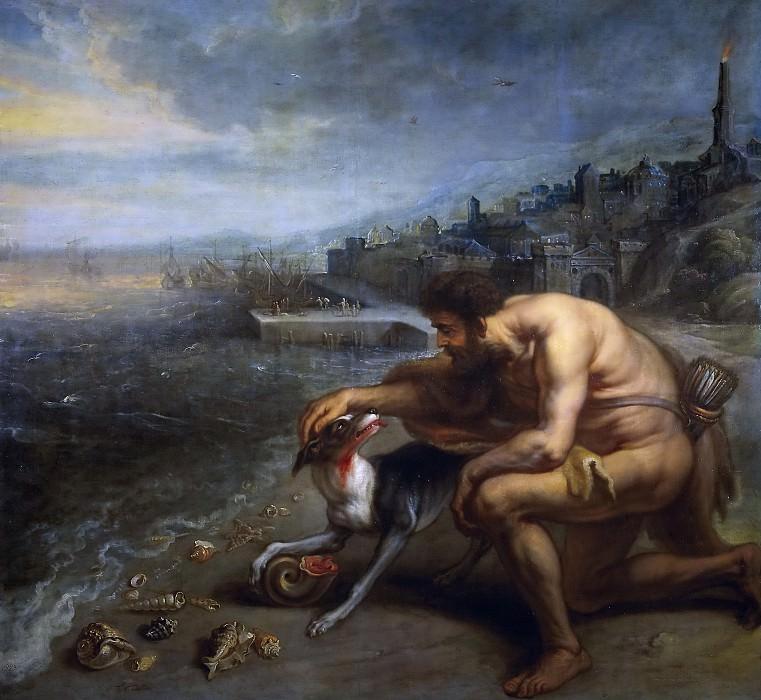 Тюльден, Теодор ван -- Сцена на библейский сюжет. часть 6 Музей Прадо