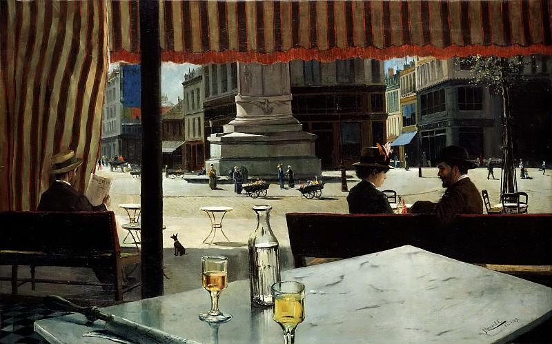 Meifrén Roig, Eliseo -- Plaza de París. Part 6 Prado Museum