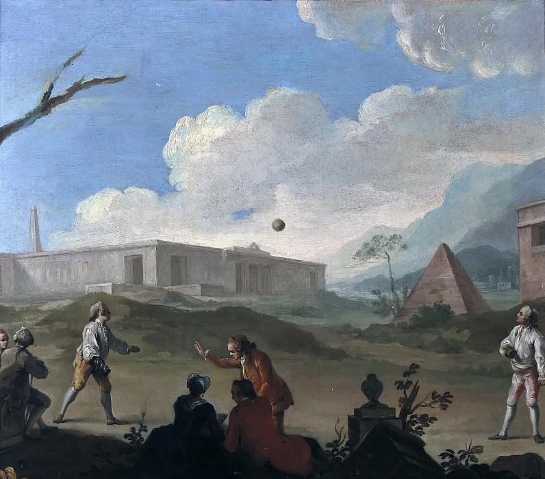 Флипар, Шарль Жозеф -- Игры с мячом. часть 6 Музей Прадо