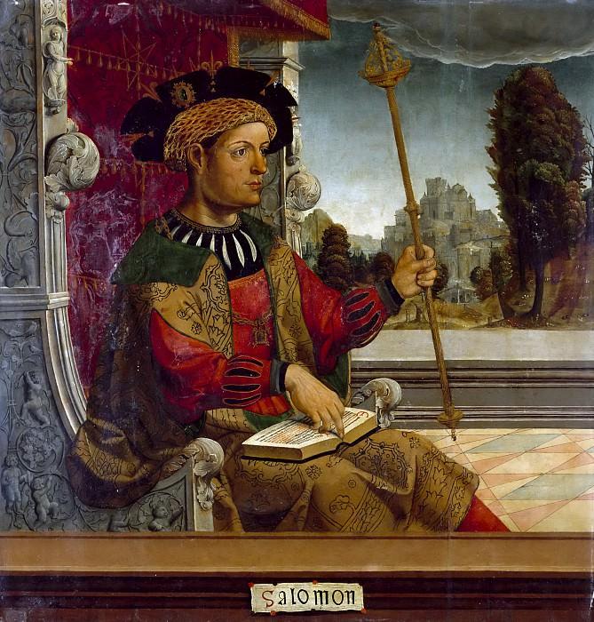 Maestro de Becerril -- Salomón. Part 6 Prado Museum