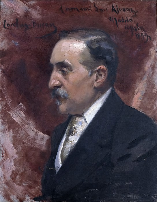 Carolus-Duran -- Luis Álvarez Catalá. Part 6 Prado Museum