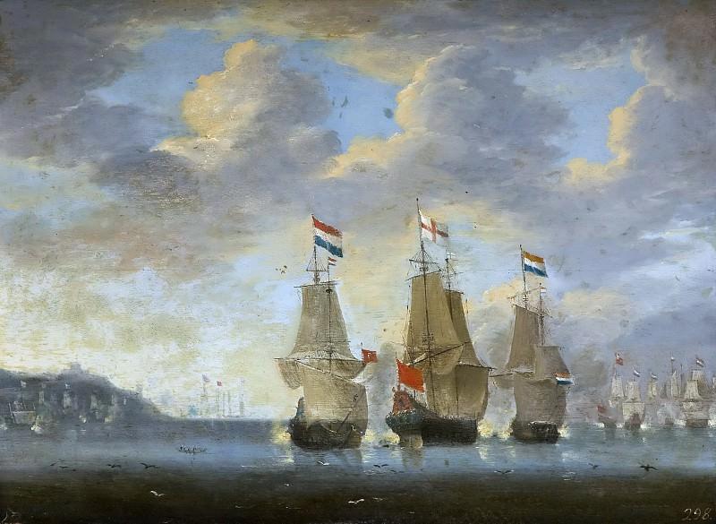 Anónimo -- Combate naval. Part 6 Prado Museum