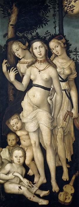 Бальдунг Грин, Ханс -- Гармония, или Три грации. часть 6 Музей Прадо