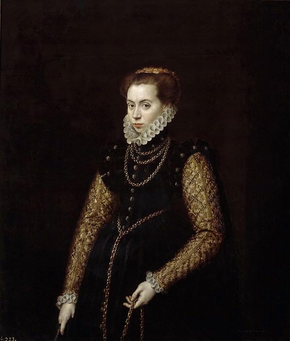 Moro, Antonio -- La dama de las cadenas de oro. Part 6 Prado Museum