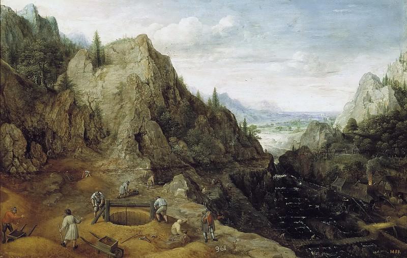 Valckenborch, Lucas van -- Paisaje con ferrerías. Part 6 Prado Museum