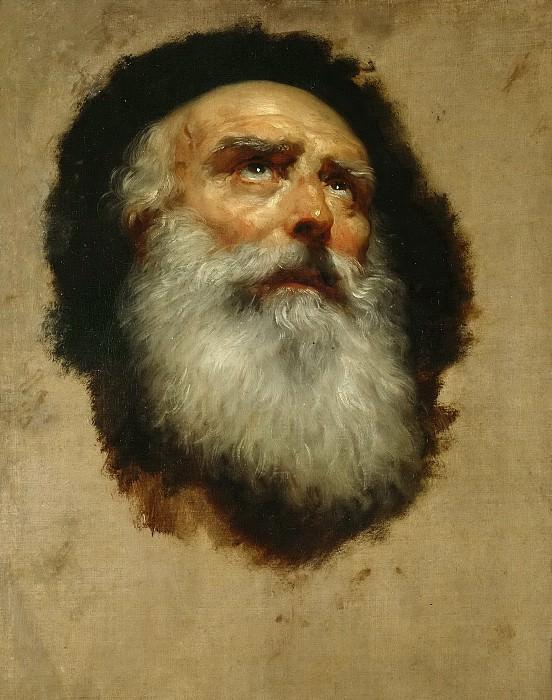 Mengs, Anton Rafael -- Cabeza de Apóstol. Part 6 Prado Museum