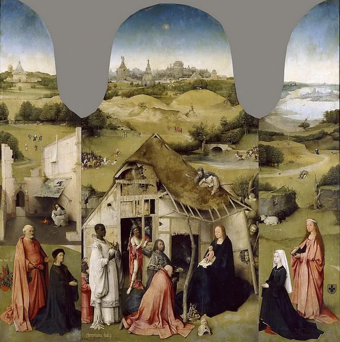 Босх, Иероним -- Поклонение волхвов. часть 6 Музей Прадо