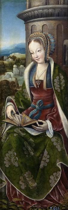 Мастер из Франкфурта -- Святая Варвара. часть 6 Музей Прадо