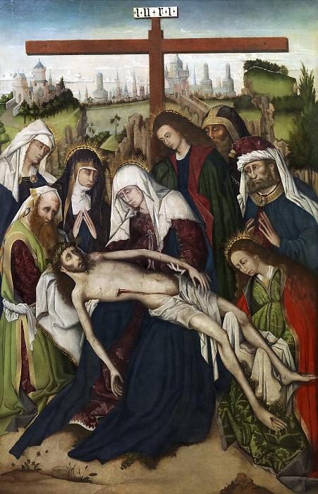 Anónimo -- Lamentación. Part 6 Prado Museum