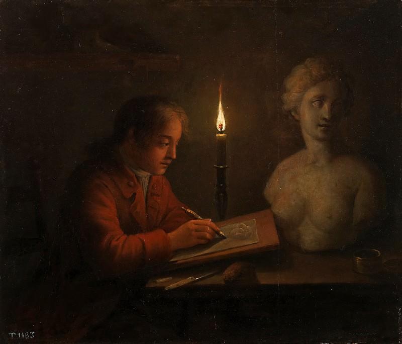 Palthe, Gerhard Jan -- Joven dibujante. Part 6 Prado Museum