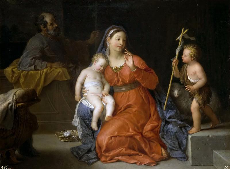 Уасс, Мишель Анж -- Святое семейство со св Иоанном Крестителем. часть 6 Музей Прадо