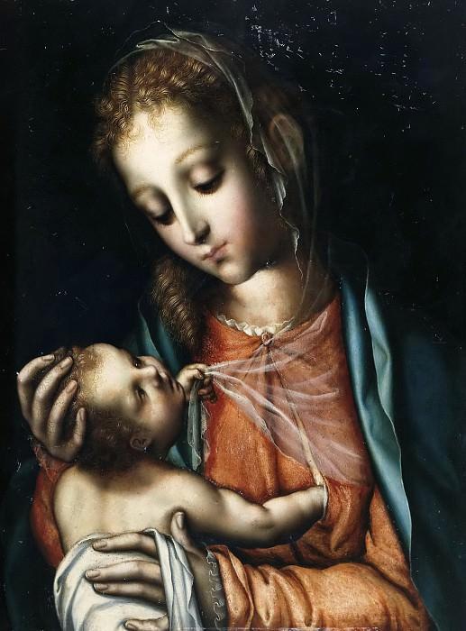 Morales, Luis de -- La Virgen con el Niño. Part 6 Prado Museum