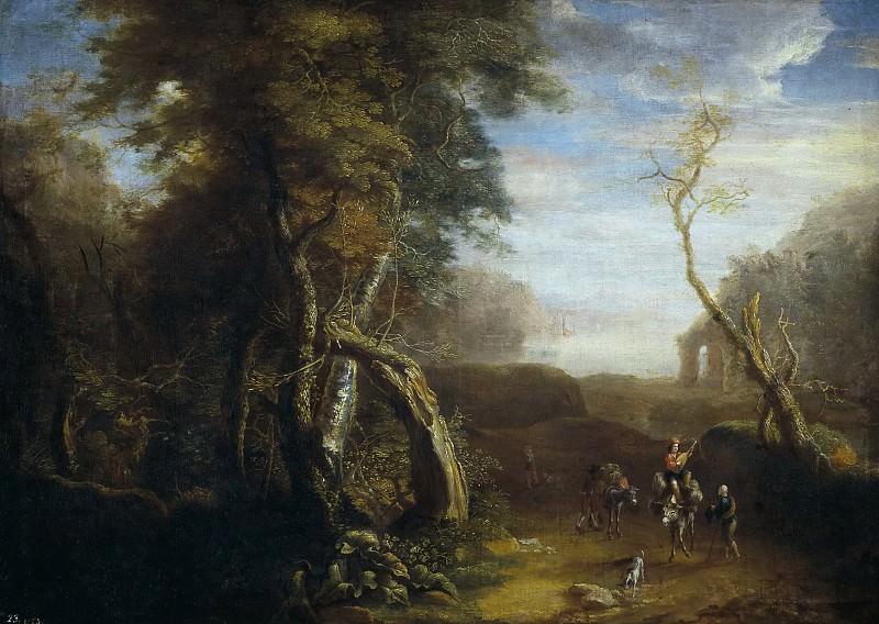 Spierinckx, Pieter -- Paisaje de Italia. Part 6 Prado Museum