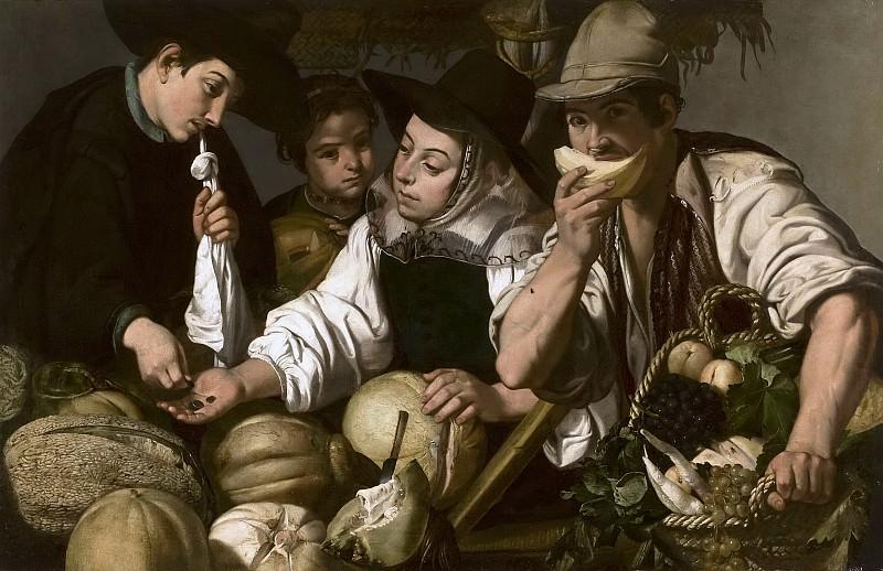Эспиноса, Херонимо Хасинто -- Продавцы фруктов. часть 6 Музей Прадо