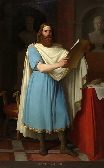 Esquivel, Carlos María -- El rey godo Alarico. Part 6 Prado Museum