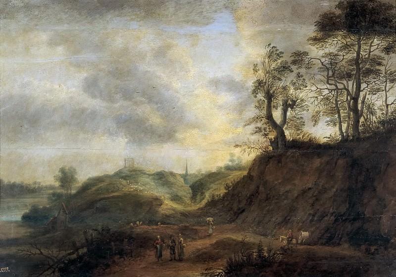 Юден, Лукас ван -- Пейзаж. часть 6 Музей Прадо
