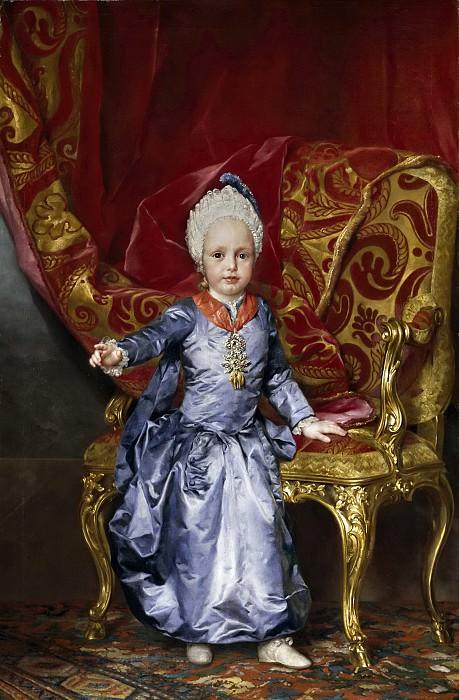 Mengs, Anton Rafael -- El archiduque Francisco de Austria. Part 6 Prado Museum