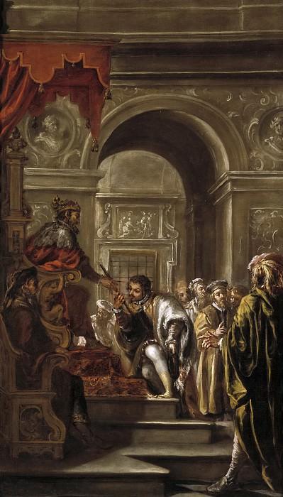 Valdés Leal, Juan de -- El nombramiento de San Ambrosio como gobernador. Part 6 Prado Museum
