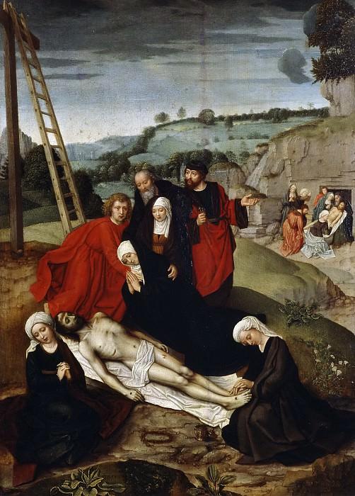 Isenbrandt, Adriaen -- Llanto sobre Cristo muerto. Part 6 Prado Museum
