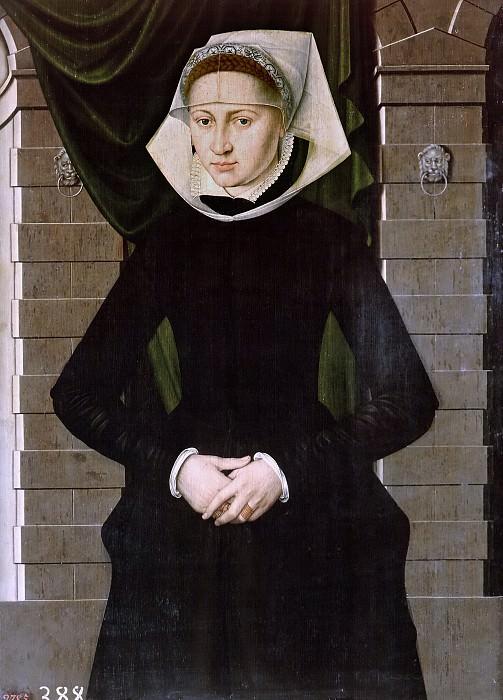 Cronenburch, Adriaen van -- Dama holandesa. Part 6 Prado Museum