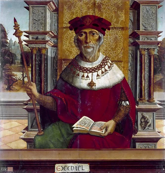 Maestro de Becerril -- Ezequiel. Part 6 Prado Museum