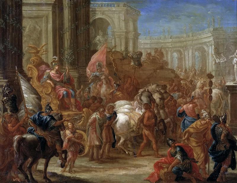 Le Brun, Charles (Discípulo de) -- El triunfo de César. Part 6 Prado Museum
