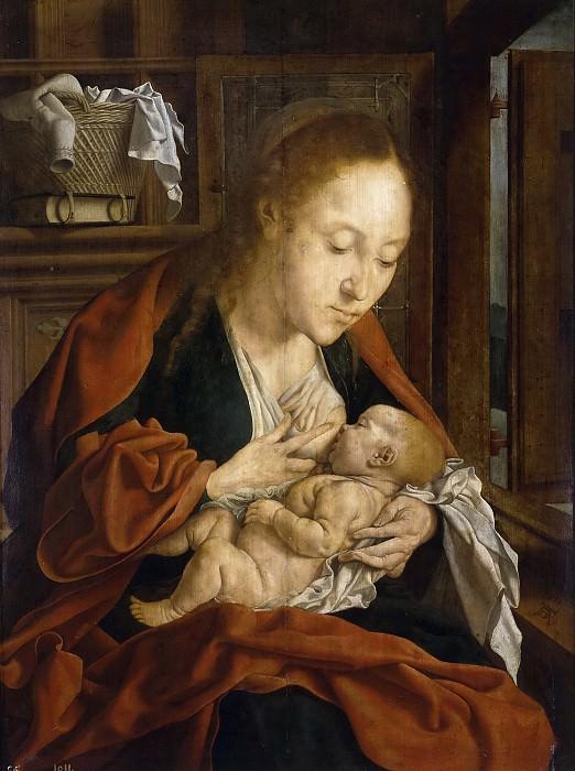 Marinus -- La Virgen de la Leche. Part 6 Prado Museum