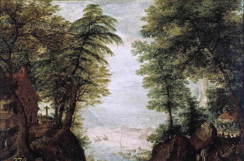 Stevens, Pieter II -- Paisaje frondoso. Part 6 Prado Museum