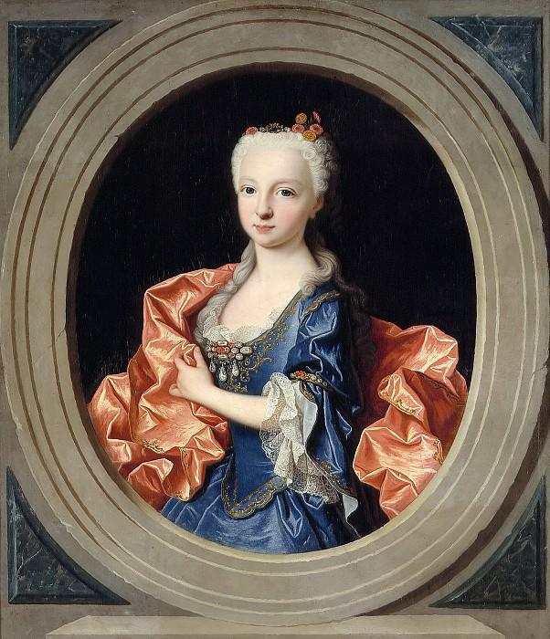 Ranc, Jean -- María Teresa Antonia de Borbón, infanta de España (futura delfina de Francia). Part 6 Prado Museum