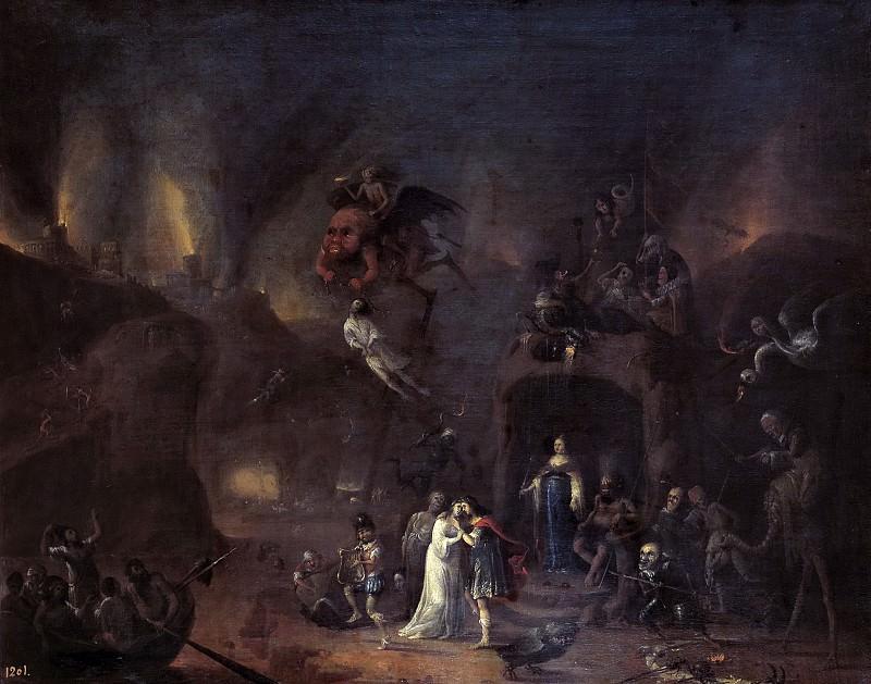 Fris, Pieter -- Orfeo y Eurídice en los Infiernos. Part 6 Prado Museum