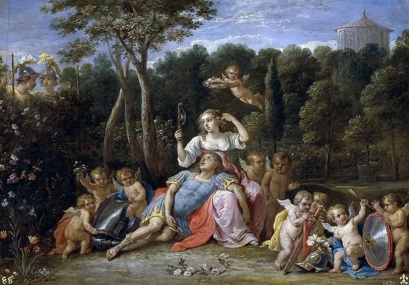 Тенирс, Давид II -- Сад Армиды. часть 6 Музей Прадо