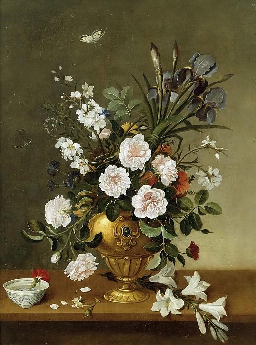 Camprobín, Pedro -- Florero y cuenco de cerámica. Part 6 Prado Museum