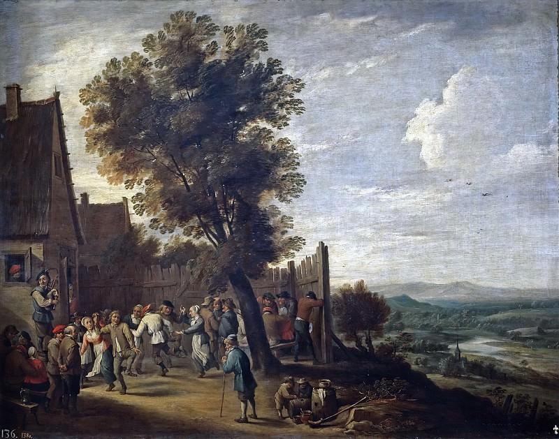 Тенирс, Давид II -- Кермесса. часть 6 Музей Прадо