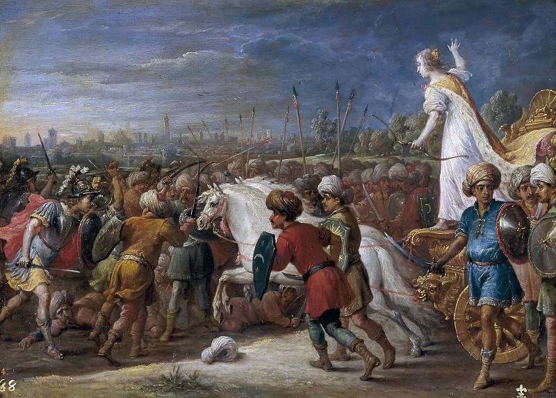 Teniers, David -- Armida en la batalla frente a los sarracenos.. Part 6 Prado Museum