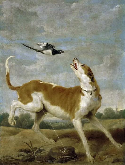 Vos, Paul de -- El perro y la picaza. Part 6 Prado Museum