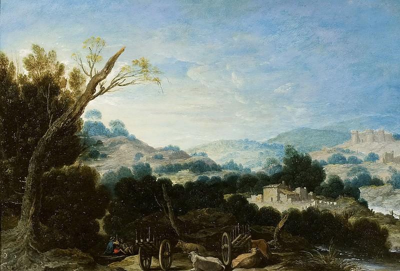 Collantes, Francisco -- Paisaje con pastores. Part 6 Prado Museum