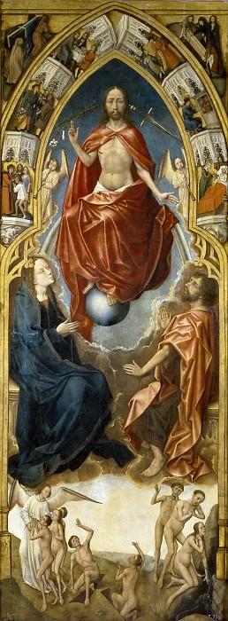 Stockt, Vrancke van der -- Tríptico de la Redención: el Juicio Final. Part 6 Prado Museum