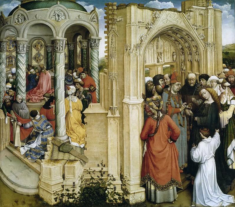 Кампен, Робер -- Обручение Девы Марии. часть 6 Музей Прадо