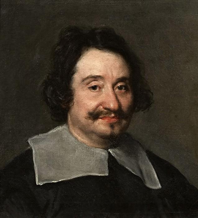 Retrato de hombre, el llamado Barbero del Papa. Diego Rodriguez De Silva y Velazquez