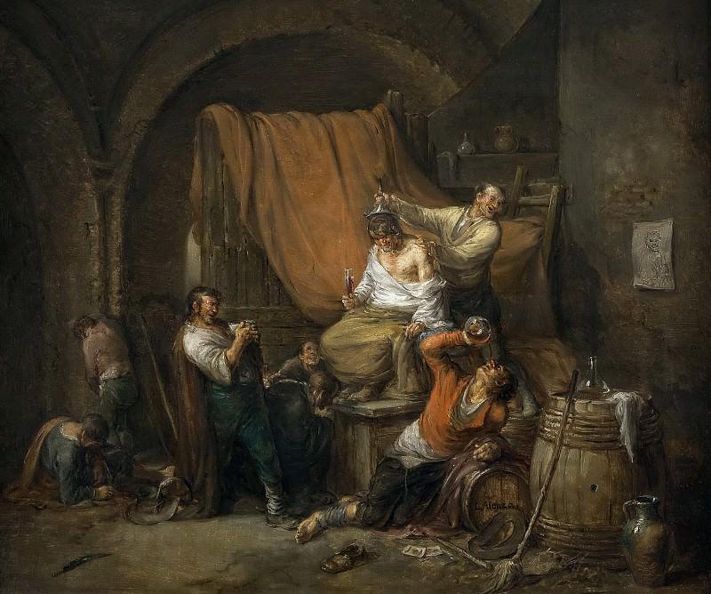 Alenza y Nieto, Leonardo -- El triunfo de Baco. Part 6 Prado Museum