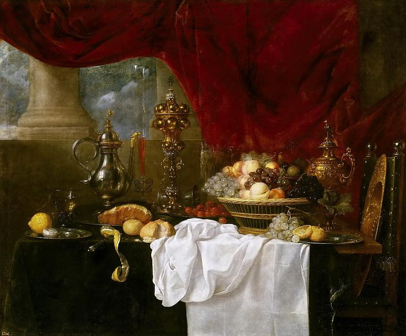 Бенедетти, Андреа (ок1617 Парма - п1649) -- Накрытый стол. часть 6 Музей Прадо