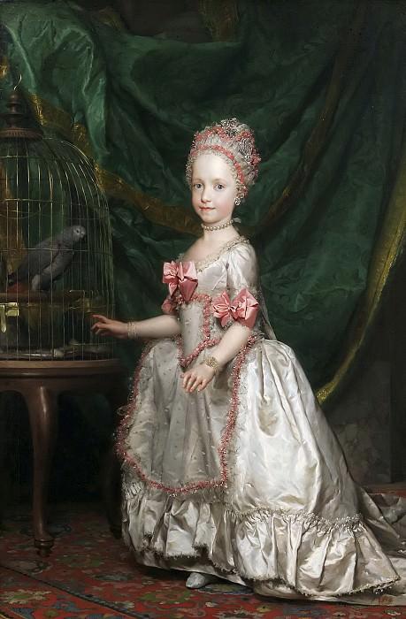 Mengs, Anton Rafael -- La archiduquesa María Teresa de Austria. Part 6 Prado Museum