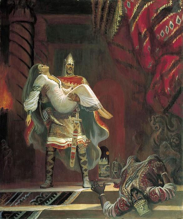 Поход Вольги 1993. часть 2 - русских и советских худ Русские и советские художники