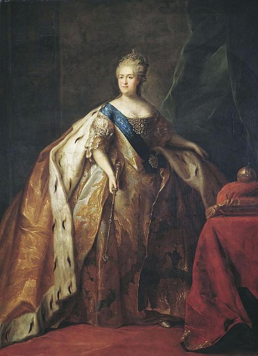 Портрет Екатерины II 1796. часть 2 - Russian and soviet artists Русские и советские художники