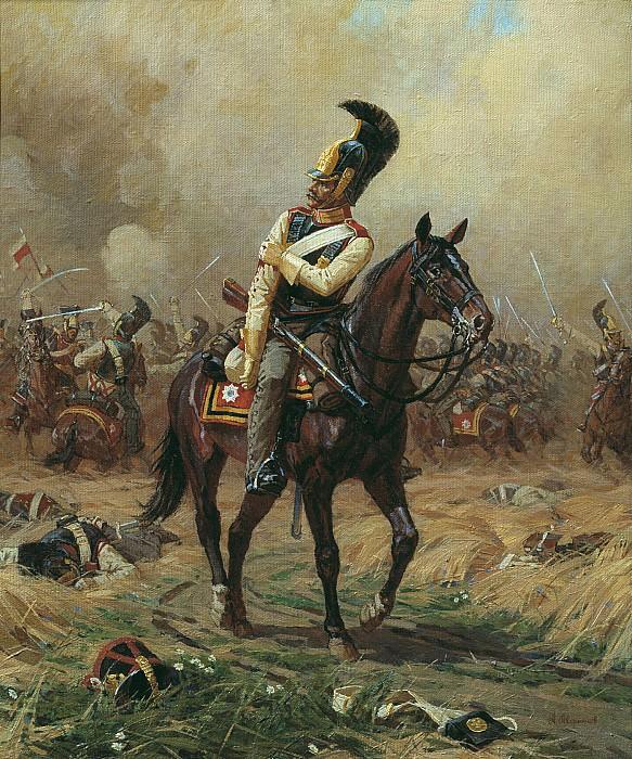 Раненый кавалергард. часть 2 - русских и советских худ Русские и советские художники
