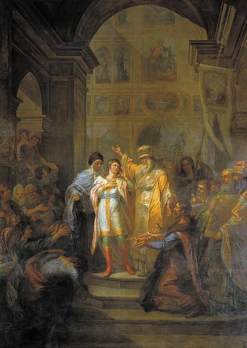 Призвание Михаила Федоровича Романова на царство 14 марта 1613 года. часть 2 - русских и советских худ Русские и советские художники