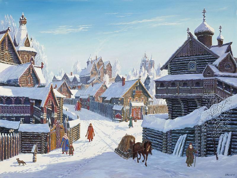 Погожий зимний день 2005. часть 2 - русских и советских худ Русские и советские художники