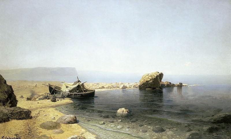 Прозрачная вода 1879 холст масло 78х125 см. часть 2 - русских и советских худ Русские и советские художники